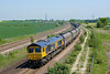66746 Passes Burton Salmon at 12:12 on Monday 28th May