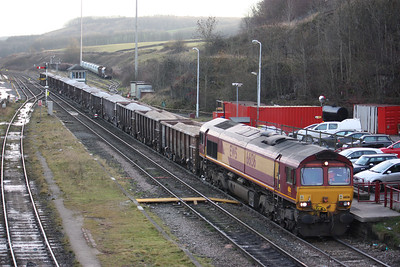 66136 Peak Forest, Briggs Sidings - Ashburys 17/12/13