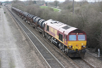66128 Stenson Junction, Margam - Corby 20/3/14