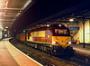 67007 pauses at Cheltenham Spa with the 1E43 15:09 Plymouth - Low Fell, at 18:45 on Wednesday20th December 2000.