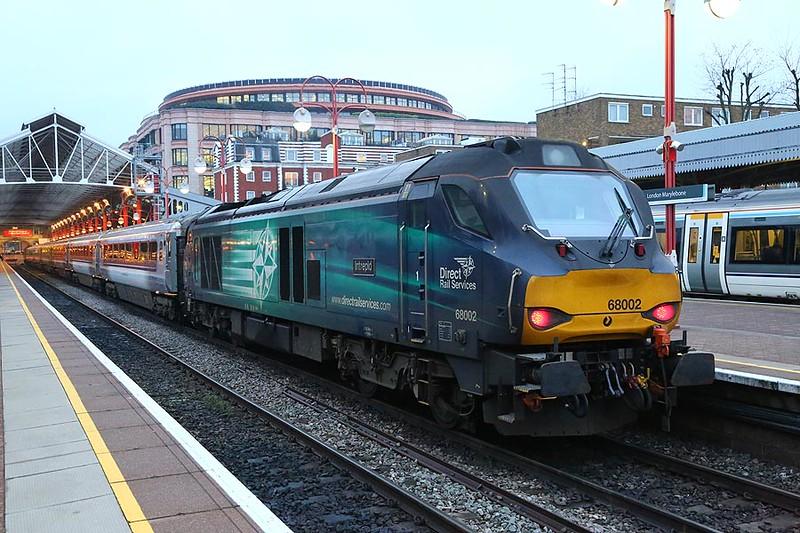 68002 Marylebone 10th February 2017
