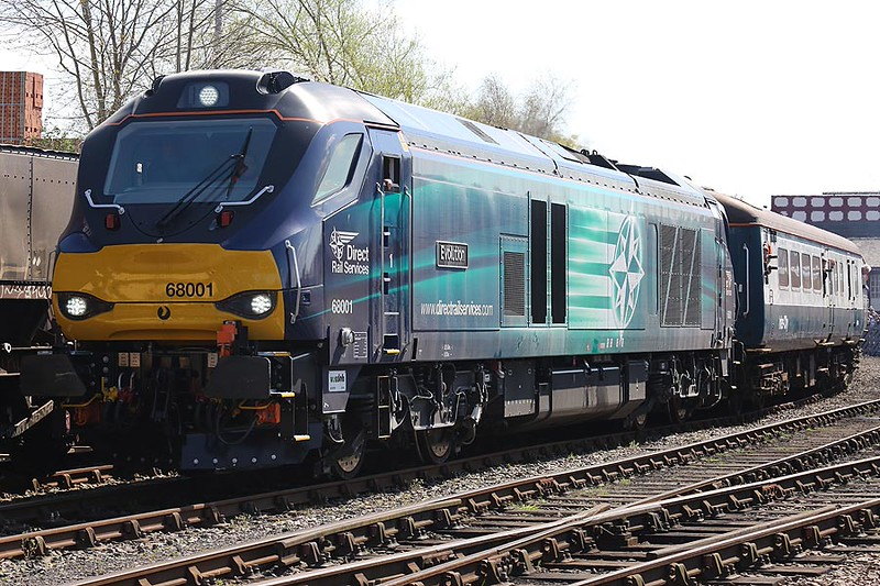 68001 Barrow Hill 18th April 2015