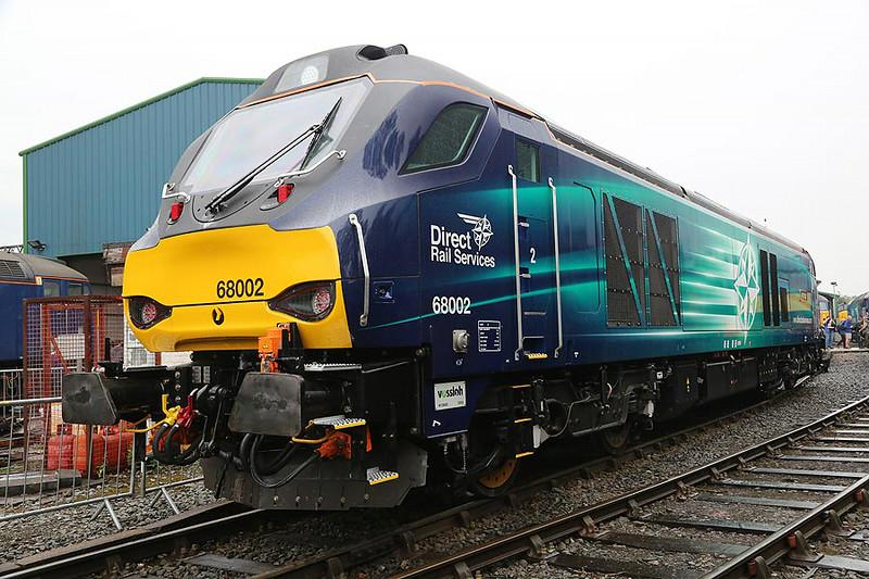 68002 Crewe Gresty  Bridge 19th July 2014