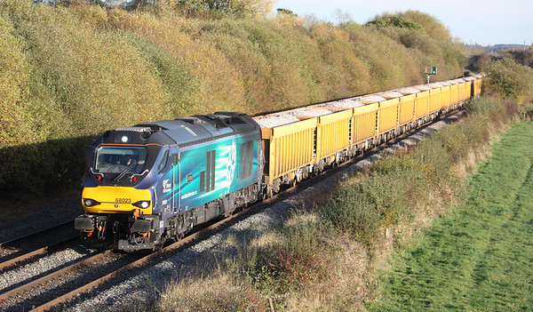 68023 Barrow-upon-Trent 6U77 1342 Mountsorrel - Crewe Basford Hall 2/11/16