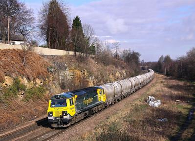 70011 KILNHURST 6M68 09.55 Dewsbury-Earles