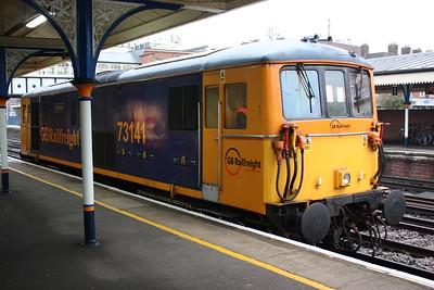 73141 Eastleigh, Eastleigh Arlington Works - Eastleigh Arlington Works via Basingstoke 29/10/14