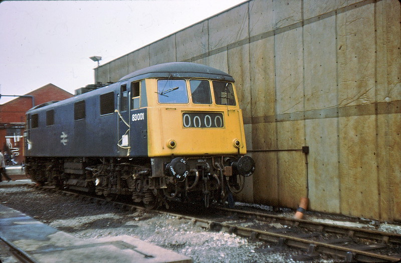 83001 Crewe Works 24 Sep 77