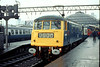 84010 Manchester Piccadilly on 'Class 84 Farewell' Railtour 10th Nov 1979