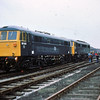 86001 & 86228 Crewe Works 24 Sep 77