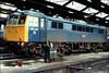 86216 Willesden TMD 1st Jan 1980