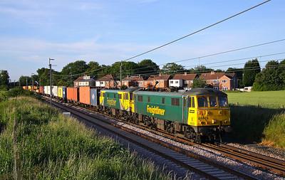 86628+86637 GOLBORNE 4M74 14.01 Coatbridge-Crewe BH