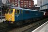 87001 arrived Birmingham New St on 1408 ex Euston 26th Jan 2005