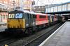 87004/87030 Birmingham New St on 1300 to Euston 26th Jan 2005
