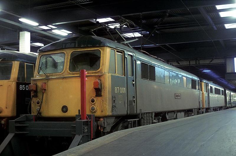 87001 Euston 26th Feb 1978