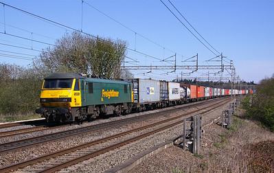90041 CHELMSCOTE 4M88 09.18 Felixstowe-Crewe