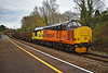 37421 6Z37 1026 Canton Sidings to Landore Traction Maintenance Depot at Llansamlet 19/11/19.