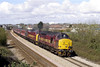37417 & 37401 1Z70 Blackburn to Cardiff Central at Pyle 12/4/2008.