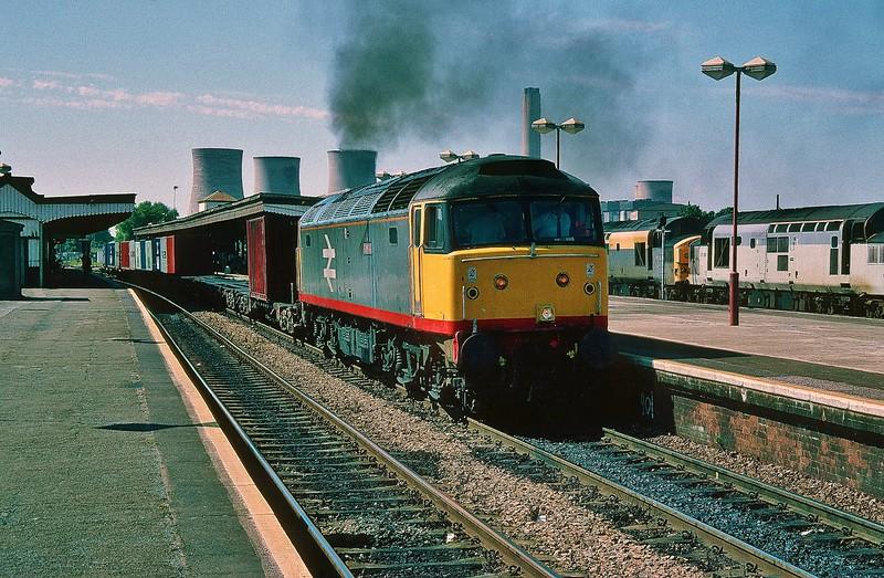 47345 at Didcot 29/7/1995.