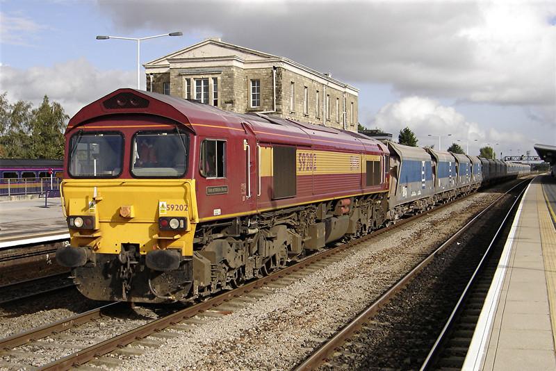 59202 at Swindon 20/10/2006.