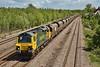 70011 6M04 Portbury to Crewe Basford Hall coal at Undy 12/5/2012.