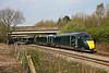 800016 & 800028 1L48 0929 Swansea to Paddington near Pencoed 21/4/18.