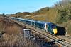 800008 & 800014 1L52 0938 Carmarthen to Paddington at Stormy 2/2/19.