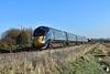 800011 1B20 0937 Paddington to Carmarthen at Loughor 19/1/20.