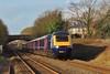 43180 & 43034 1L52 10:51 Swansea to London Paddington at Pyle 29/12/15.