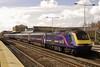 43165 & 43176 11:55 Cardiff Central to London Paddington at Swindon 24/3/2005.