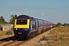 43171 & 43158 13:45 London Paddington to Swansea at Severn Tunnel Junction 15/09/2012.