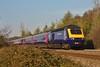 43179 & 43027 07:58 Swansea to London Paddington at Coychurch 06/04/2012.