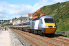43307 & 43367 1E46 10:32 Paignton to Newcastle at Dawlish 19/7/2008.
