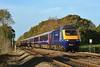 43171 & 43196 09:28 Swansea to London Paddington at Coychurch 30/10/2010.
