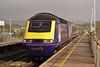 43174 & 43079 08:00 Swansea to London Paddington at Bridgend 24/3/2005.