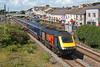 43172 & 43025 1B15 08:45 London Paddington to Pembroke Dock at Pembrey and Burry Port 5/8/17.