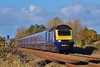 43181 & 43185 1L52 09:33 Carmarthen to London Paddington at Loughor 5/11/16.
