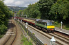Class 25 D7628 (25278) arrives at Grosmont on the North Yorkshire Moors Railway with the 14:00 Whitby - Pickering service on Saturday 23rd September 2017.