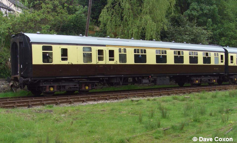 BR Mk1 BCK at Parkend on Dean Forest Railway
