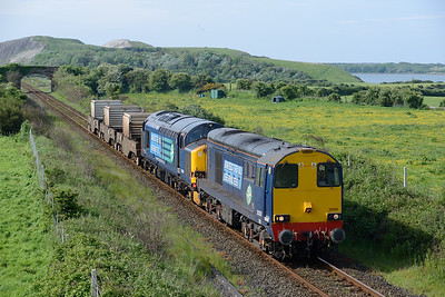 20302+37606 pass Ormsgill with a flask train 24/5/14.