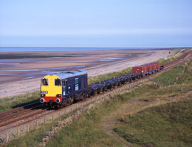 Solo 20301 worked the Drigg trip past Seascale on 8/7/97.