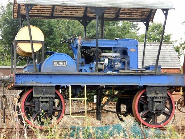 1 'Henry' Lake & Elliot 4wPM - Colne Valley Railway
