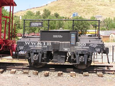 Colorado Railroad Museum, Aug 13, 2007