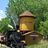 Rio Grande 2-8-0 #346 stopping for water.