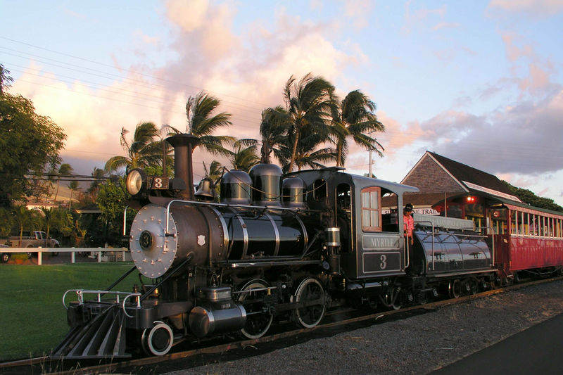 Sugar Cane Train-Maui