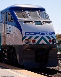 Coaster locomotive, an EMD F59PHI