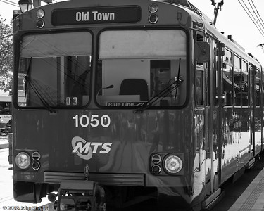 San Diego trolly train at Old Town