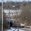 AM80 Break 434 running as train 14940 (Kinkempois - Welkenraedt) emerges from the Gulp Tunnel eastbound.