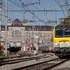 1325 leads Ostende-bound IC-A out of Verviers-Central.