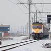 AM80 Break 434 running as train 14940 (Kinkempois - Welkenraedt) passes Block 16 and threads onto the L39 in Montzen.
