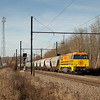 Rail Feeding 1101 leads the Hungary-bound 47511 (Sas van Gent/NL - Aachen West/D) through Remersdaal.